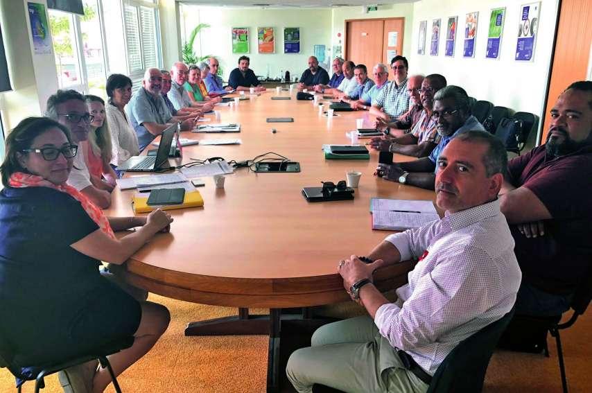 La commission paritaire sur les retraites rassemble toutes les organisations syndicales et patronales représentatives. Photo D.R.