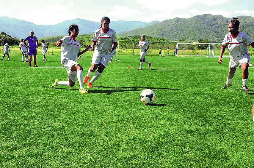 Les entraînements à Païta auront-ils porté leurs fruits ? Début de réponse demain. Photo archives LNC sports