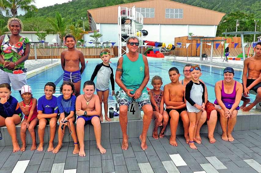 Le club accueille actuellement une vingtaine de nageuses et de nageurs. Photos E.J.