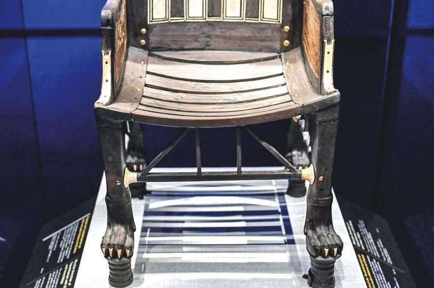 En novembre 1922, l'archéologue britannique Howard Carter et son mécène Lord Carnavon découvrent une sépulture inviolée dans la Vallée des Rois. C'est le seul mausolée égyptien à avoir livré un tel trésor.Photos AFP