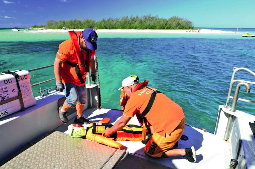 Un nouvel exercice de sauvetage a été organisé ce week-end. Photos B.B.L.