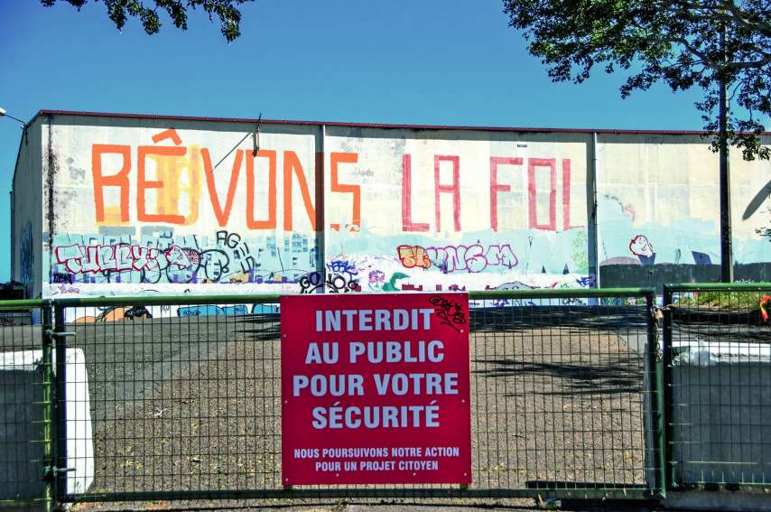 Un projet de centre socioculturel pourrait faire revivre le site. ll est à l'étude. Photo Cyril Terrien