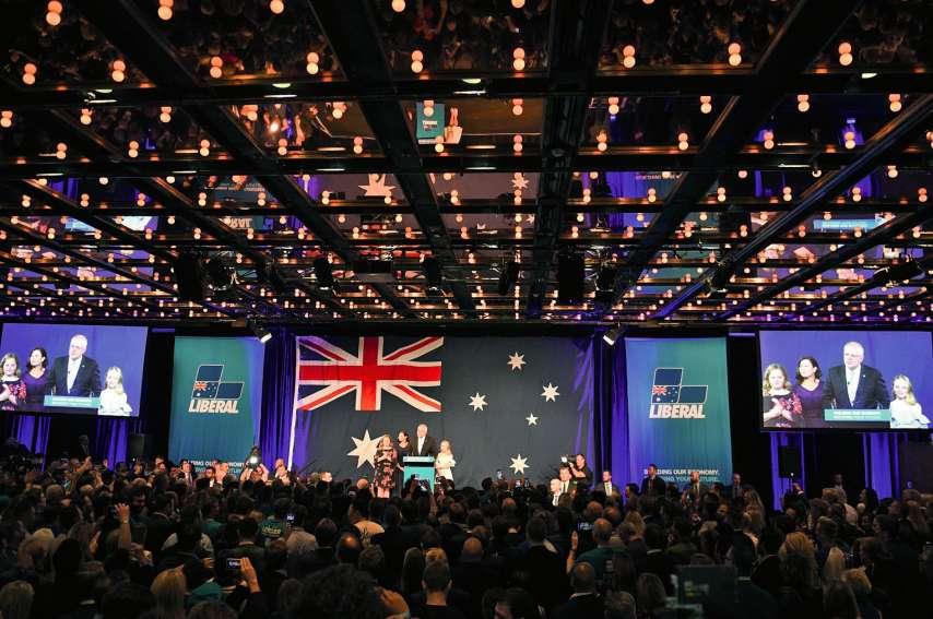 La réélection inattendue du Premier ministre australien, Scott Morrison, a ôté tout espoir  aux demandeurs d'asile. Photo Saeed Khan/AFP