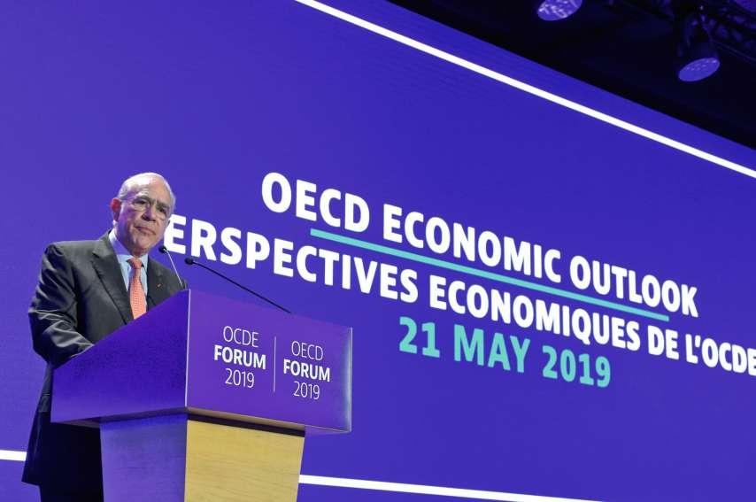 Cette année, les divergences ont également conduit l'OCDE à repousser à plus tard les adhésions de six pays candidats (Brésil, Argentine, Pérou, Roumanie, Bulgarie et Croatie).Pour autant « le processus n'est pas bloqué », a assuré Angel Gurria. Photo Eri