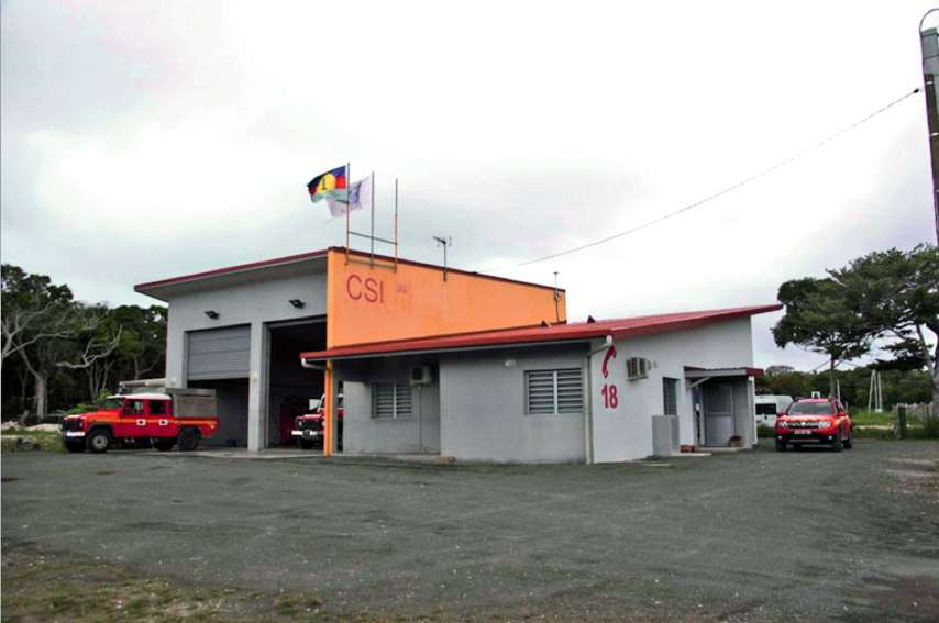 Les pompiers du centre de secours et d'incendie (CSI) d'Ouvéa sont intervenus mais n'ont rien pu faire pour sauver la victime.Archives LNC