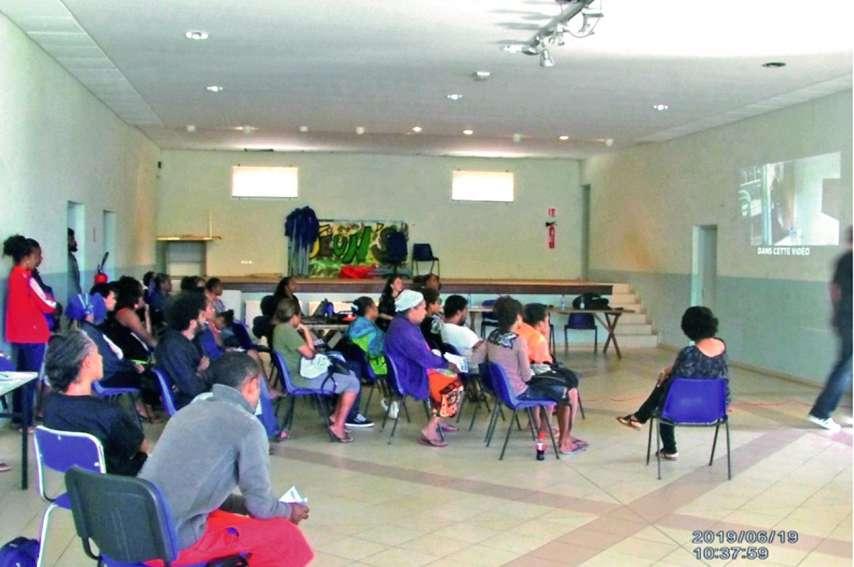 Les participants étaient réunis mercredi en salle Paul-Nedja. Photo M.-L. E