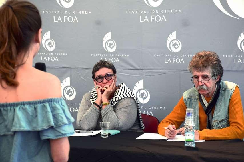 Les jurés, dont Nathalie Daly et Roland Rossero, ont pris en compte la jeunesse et le stress de candidats comme Charlotte Berger.Photo F.D.