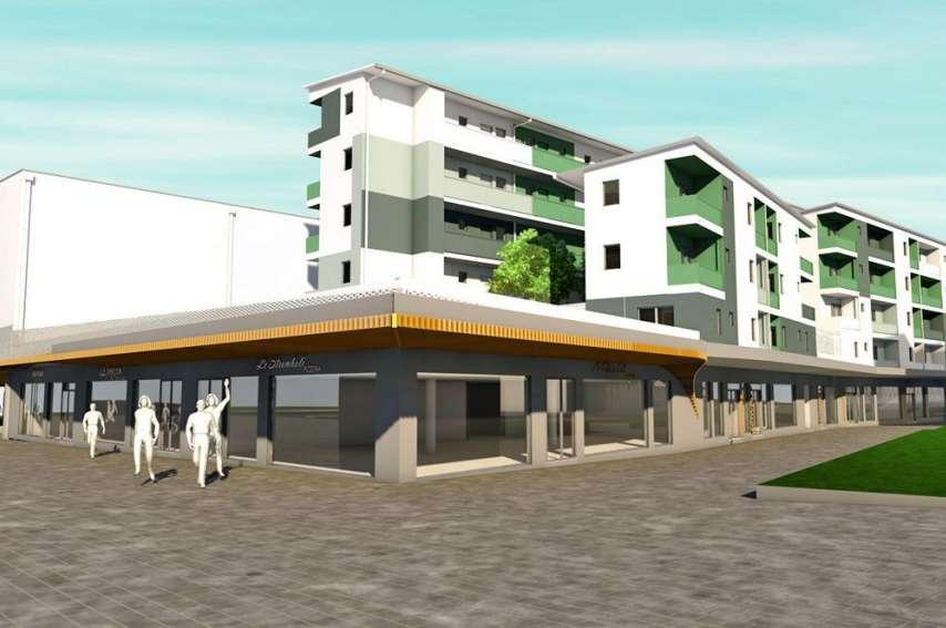 Voisins du MK2, ces locaux accueilleront aussi des commerces.Illustration Emilie Poilpré - Pacifique études et architecture