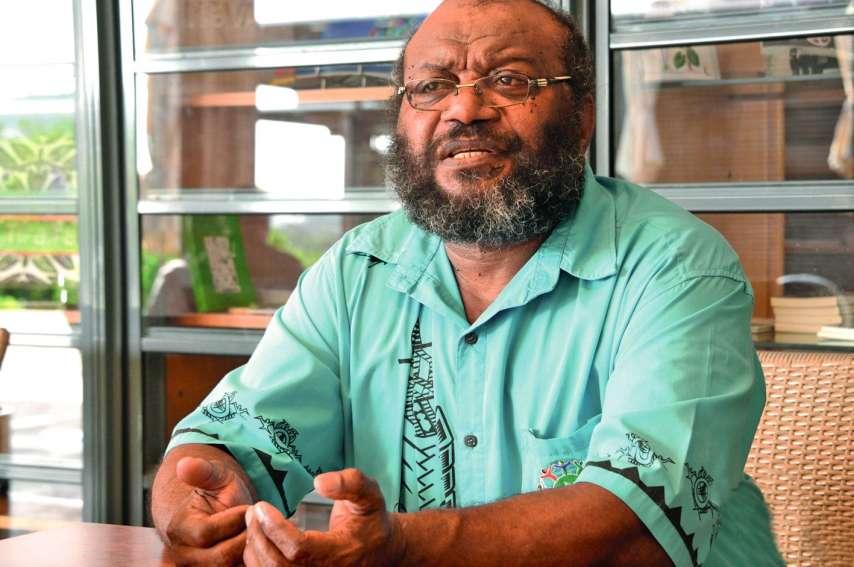 Au FLNKS, « il faut des gens qui tiennent le cap », soutient Victor Tutugoro. Photo Archives LNC