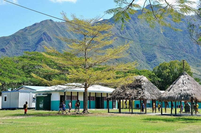 L'école subit régulièrement des intrusions et des vols. Photo IC