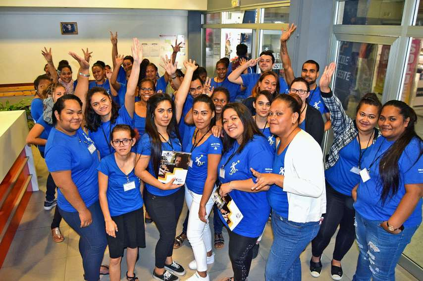 Créée en 2010, sous le nom d'école de la deuxième chance, la structure a accueilli au total un millier de stagiaires avec des taux d'insertion de 75 à 90 % selon les filières. Photo Anthony Tejero