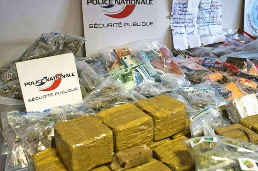 Le trafic de stupéfiants a représenté un chiffre d'affaires de 3,5 milliards d'euros en 2018. Photo AFP