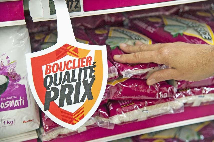 Le bouclier qualité-prix cible des produits de consommation courante afin de les rendre disponibles à prix modérés. Photo Cyril Terrien