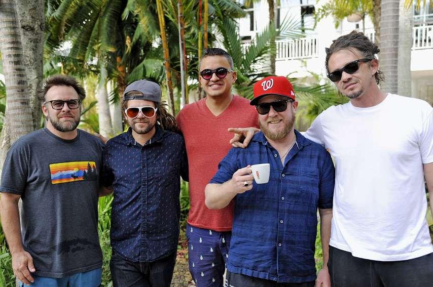 Après leur passage en Calédonie, les artistes de S.O.J.A s'envoleront pour la première fois à destination de Tahiti. Photo Cyril Terrien