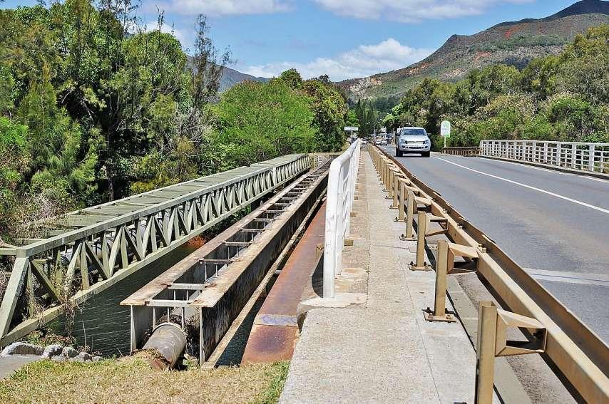 Une étude a été lancée pour réaliser une passerelle piétonne au niveau du pont de La Coulée. Photos G.R.