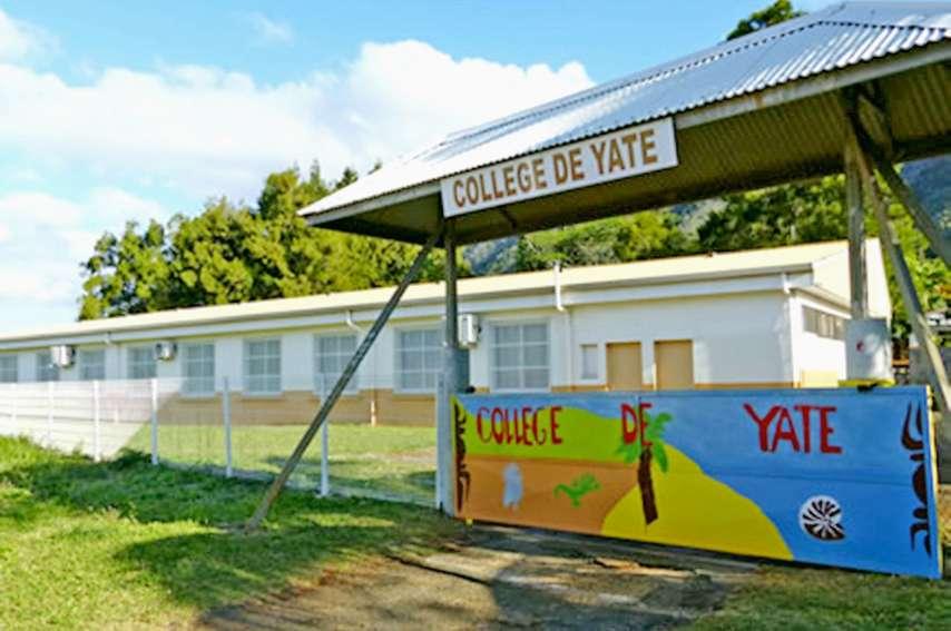 L'établissement accueillera les élèves seulement pour l'épreuve  du brevet, lundi et mardi. Photo Collège de Yaté