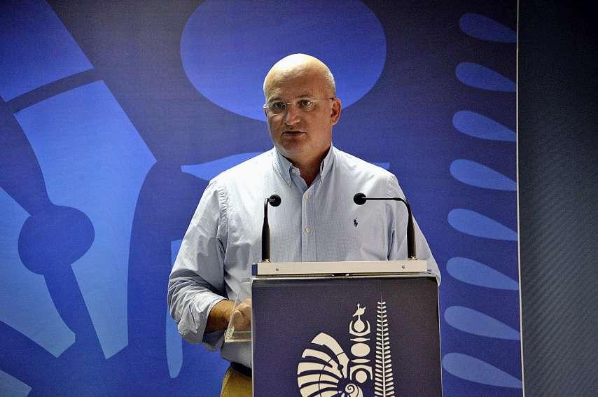 Yoann Lecourieux estime avoir préservé la capacité d'investissement du gouvernement.Photo : Thierry Perron