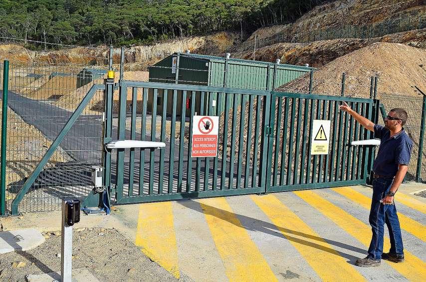 L'actuel site de Katexplo, plus gros dépôt et unité de fabrication d'explosifs du Caillou, est ultra-sécurisé. Il a été déplacé en 2015. Photo Archives LNC - Anthony Tejero
