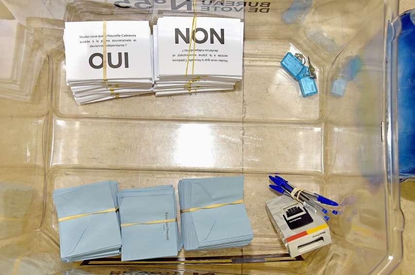 La proposition Gomès a le soutien de l'Avenir en confiance, de l'Eveil océanien et de Générations NC.Photo Archives LNC