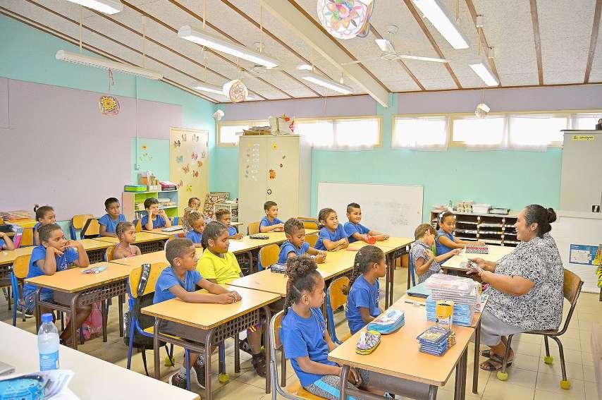 L'école privée Saint-Joseph, qui compte 229 élèves de la prématernelle au CM2, a également effectué une rentrée tout en douceur pour ces écoliers qui sont déjà prêts à se mettre au travail. « Tout s'est très bien passé », s'est félicitée Lenka Saminadin,