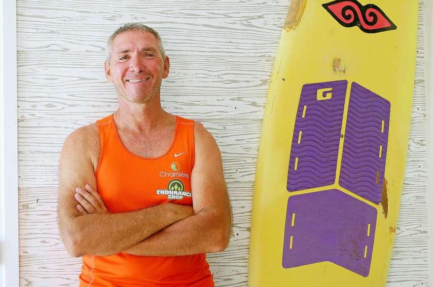 Après la Traversée, Bruno Monier a déjà de nombreux challenges sportifs en tête dont un tour de Calédonie en tricycle, sur une dizaine de jours, à la fin de l'année. Photo AFP