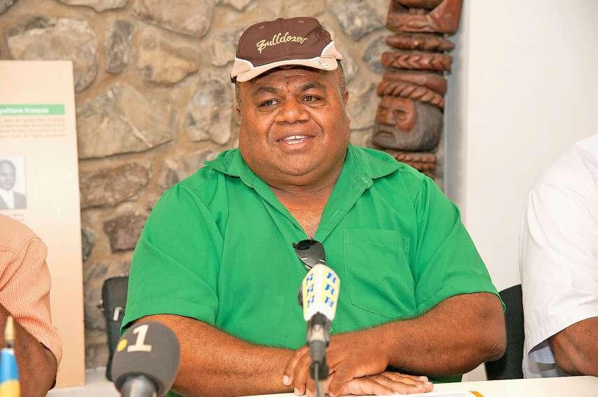 Pierre-Chanel Téin Tutugoro est satisfait de son bilan à la tête de la mairie.Photo archives LNC