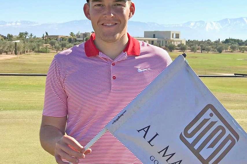 Né en Métropole, Dylan Benoit a grandi en Calédonie où il a commencé  le golf à 14 ans grâce à son « meilleur ami » Guillaume Castagne. Photo DR