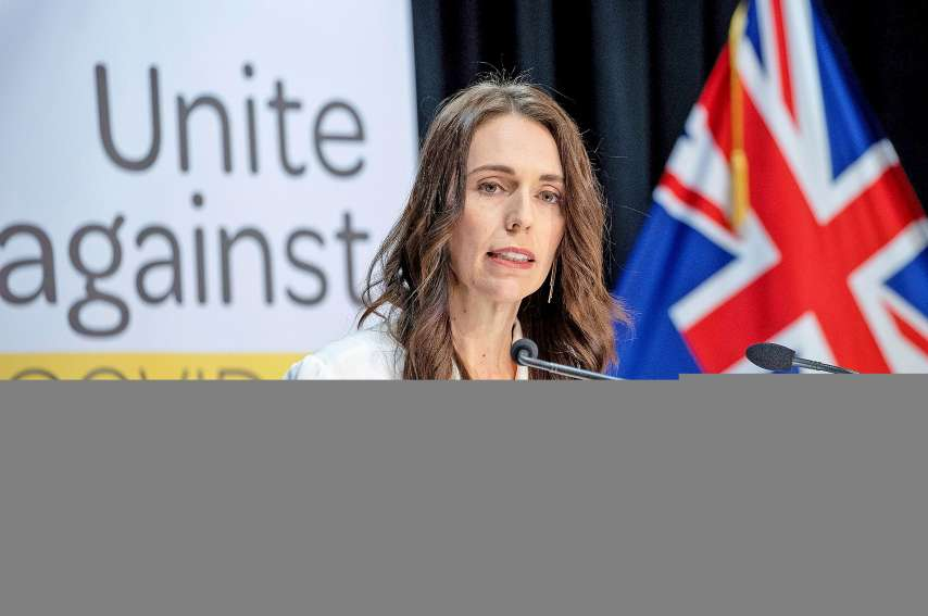 La Première ministre néo-zélandaise, Jacinda Ardern.Photo AFP
