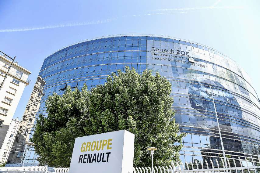 Renault envisagerait la fermeture de quatre sites en France, selon Le Canard enchaîné. Photo AFP