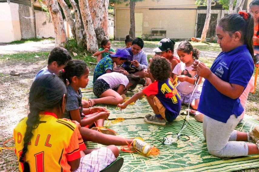Les vacanciers de l'Acaf (re)découvriront les savoirs traditionnels dans tous leurs états. Photo ArchivesLNC