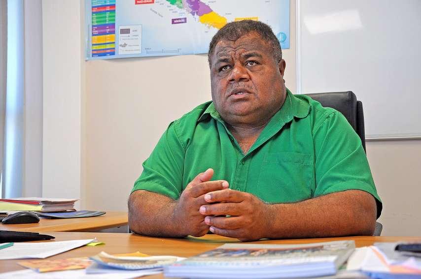 Selon Pierre Chanel Téin Tutugoro, également chef du groupe UC-FLNKS et Nationalistes au Congrès, le haut-commissaire s'est « accaparé les compétences sanitaires ». Photo Archives LNC
