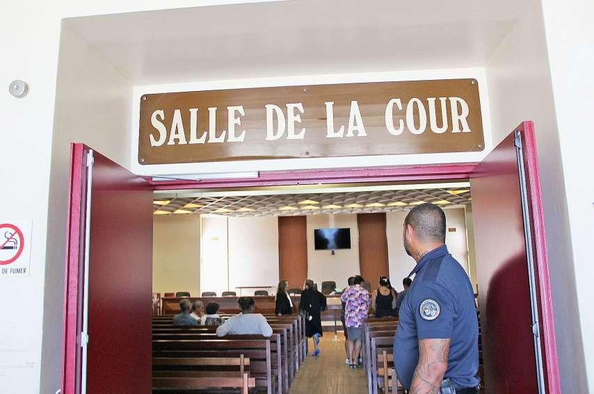 Ce procès de viol sur mineur ne se déroulait pas à huis clos car la victime est restée à Wallis.Archives LNC