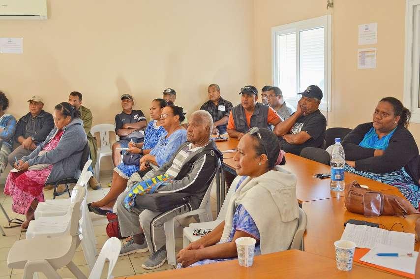 En juin, la CPME a effectué une première série de rencontres d'entrepreneurs, à Lifou.Photo Thomas Guarese - CPME