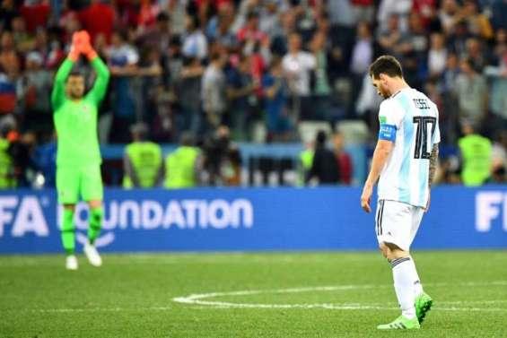 L'Argentine humiliée par la Croatie et au bord de l'élimination