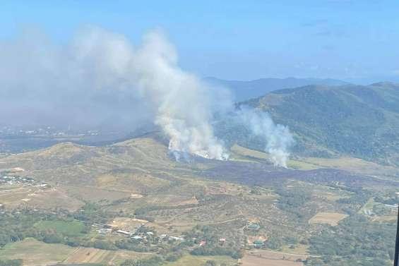 Un incendie est en cours à La Foa