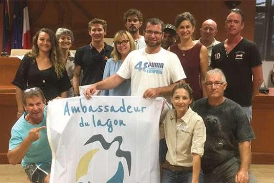 Treize nouveaux ambassadeurs du lagon