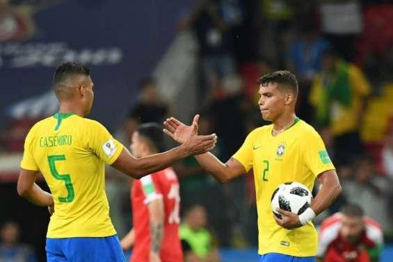 Brésil-Mexique et Suède-Suisse en 8e