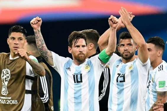 L'Argentine passe de justesse, avant d'affronter la France