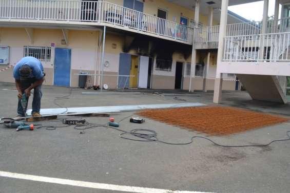 Le collège Louise-Michel de Païta de nouveau cible de dégradations