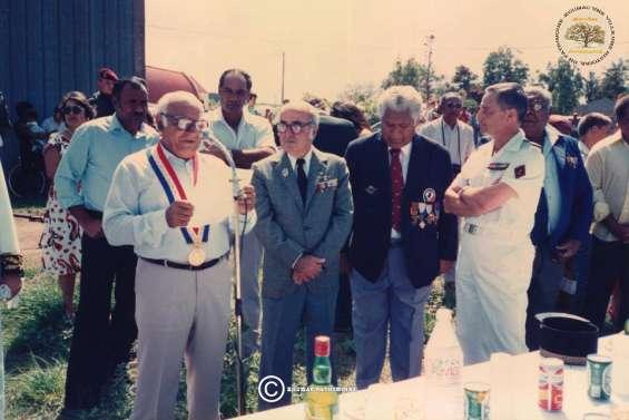 Lucien Tourte, ancien maire de Koumac, inhumé cet après-midi