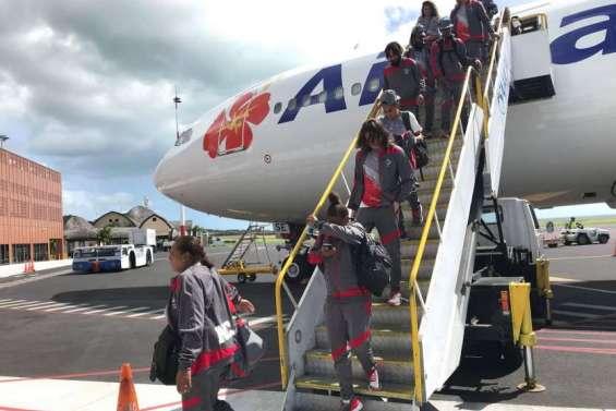 Les Cagous sont arrivés à Apia