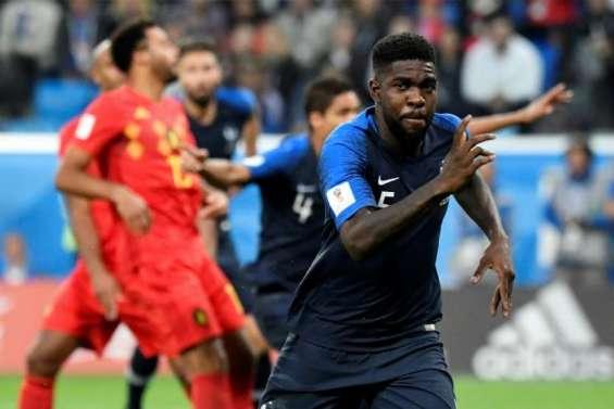 Mondial : La France en finale, en éliminant la Belgique (1-0)