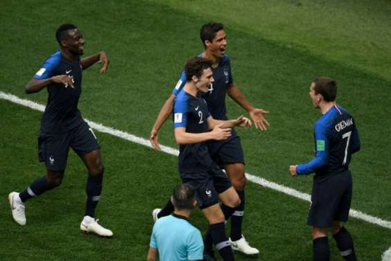 La France reprend l'avantage en finale contre la Croatie (2-1)