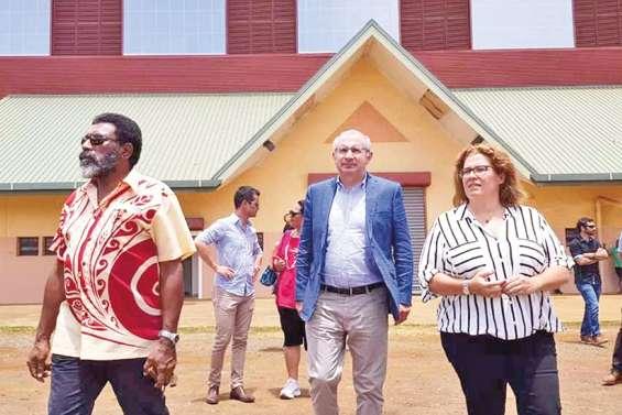 L'aboutissement de quatorze ans d'investissements inauguré à Yaté