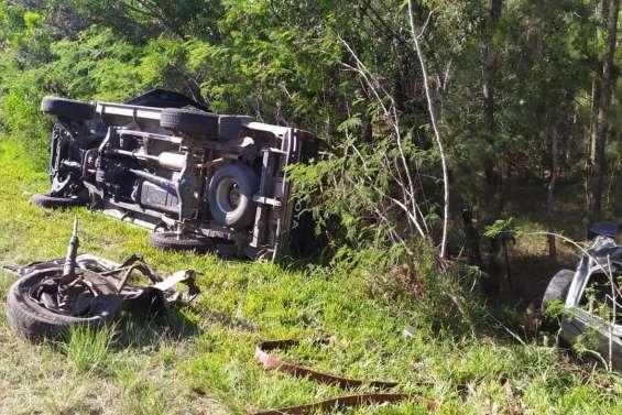 Accident près du pont de la Tontouta, un mort et trois blessés
