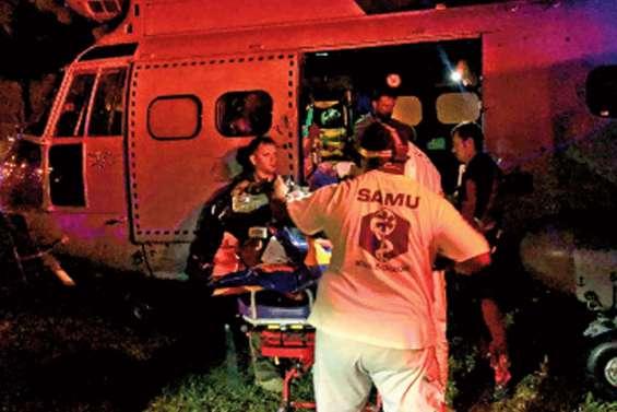 Deux personnes dans un état grave après  un accident à Maré