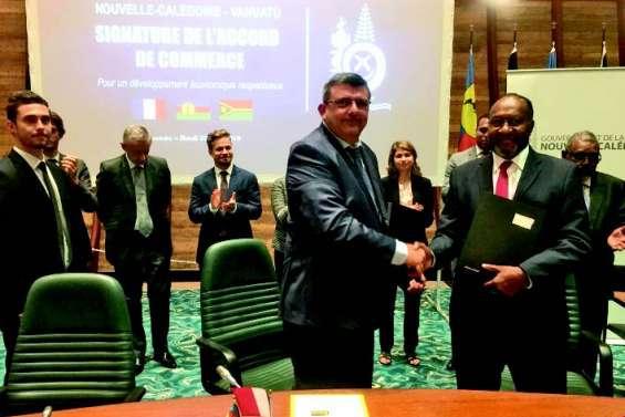 L'accord avec le Vanuatu enfin signé