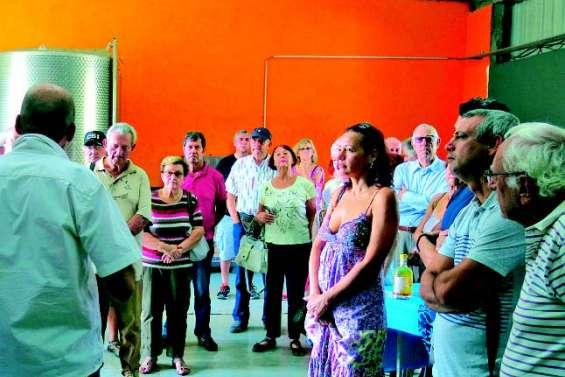 L'AHNC en visite à la distillerie du Soleil