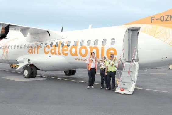 Le troisième ATR d'Air Calédonie est arrivé à Nouméa