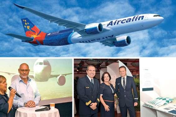 Aircalin ouvre les portes des cabines de l'A330